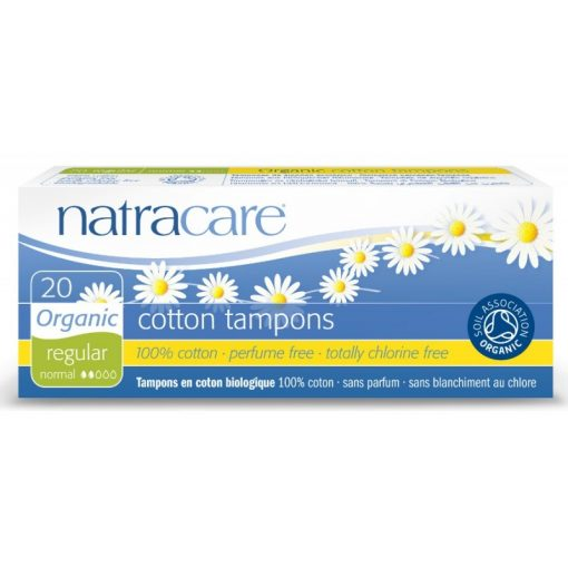 Natracare bio tamponok normál és szuper méretben