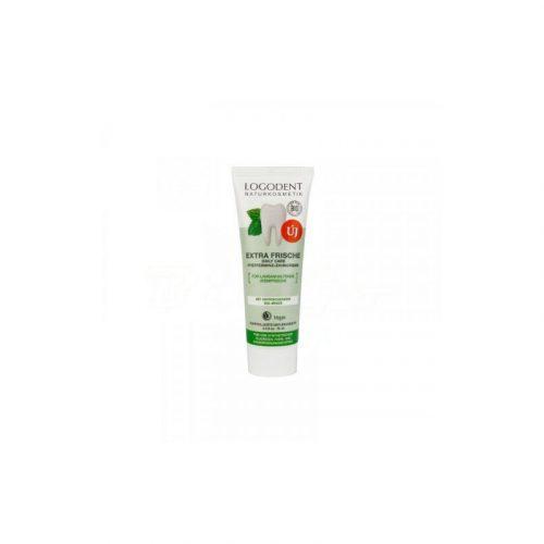 Logodent  Bio extra fress daily care fogkrém borsmenta fogkrém