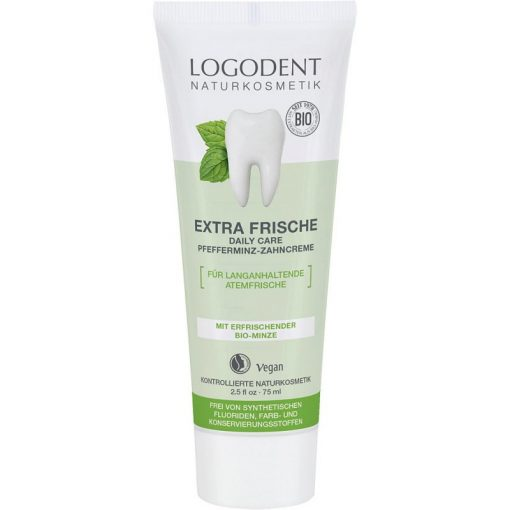 Logodent Extra friss Bio-Borsmenta fogkrém