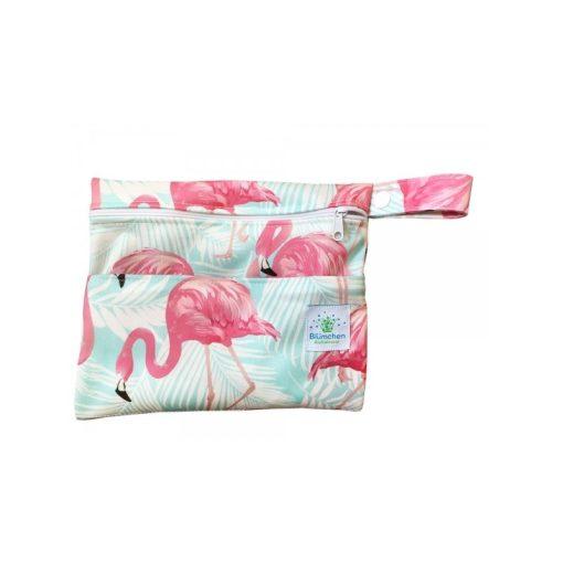 Blümchen vízhatlan női betét tartó, Flamingo