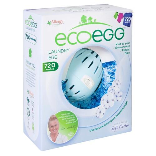 ECOEGG mosótojás 720 mosásra, puha pamut
