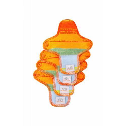 Ella's House mosható tisztasági betét, mini, limitált Jungle orange