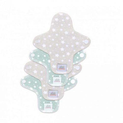 Ella's House mosható tisztasági betét, mini, stars cloud beige