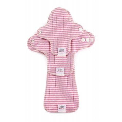Ella's House Moon Pads trial - mosható betét csomag, pink csíkos