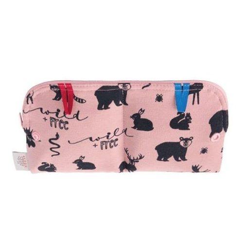 Ella's House betéttartó zsák, limitált, Wildlife Pink