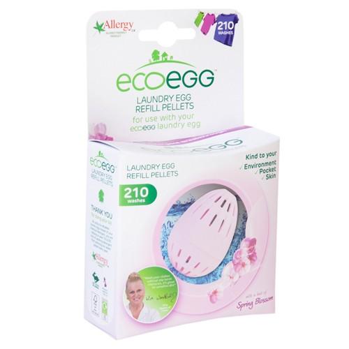 Utántöltő pellet ECO EGG mosótojásba, 210 mosásra, spring blossom