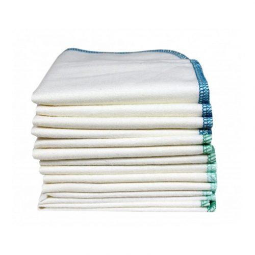 ImseVimse mosható törlőkendők, biopamut 12 db