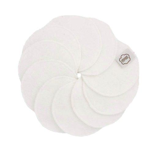 Imsevimse biopamut mosható arctisztító korong, fehér