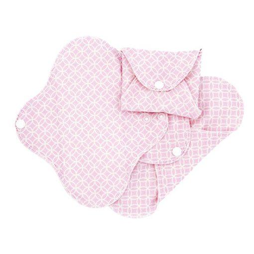 ImseVimse női betét, pink halo, mini